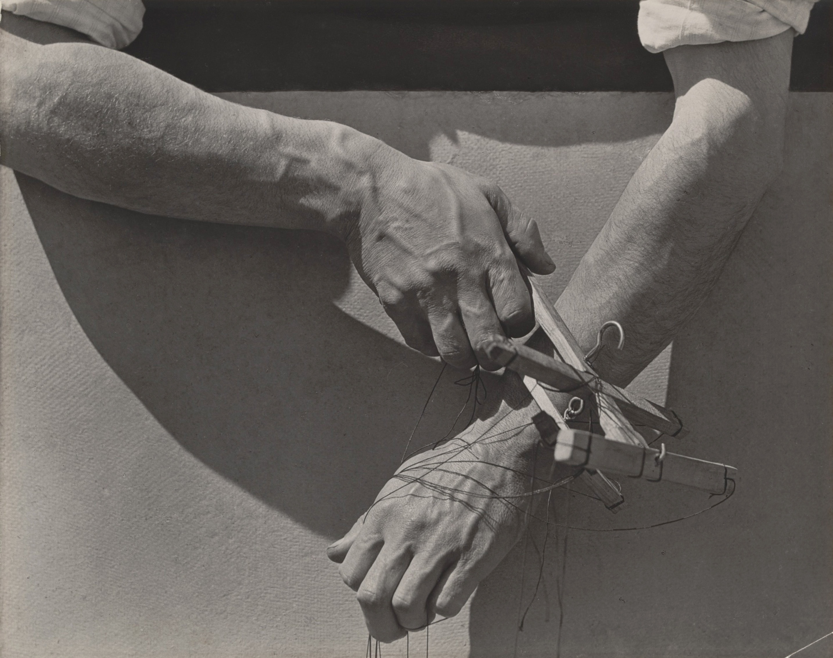 Tina Modotti, Hands of Marionette Player, 1929
